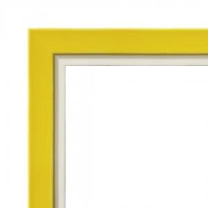 Benutzerdefinierte Rahmen Mirò Serien - Gelb Undurchsichtig