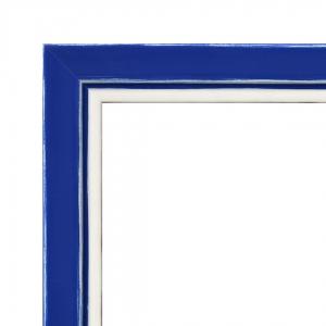 Benutzerdefinierte Rahmen Mirò Serien - Blau Undurchsichtig